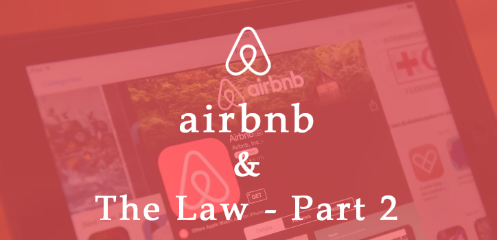 airbnb & the law part 2